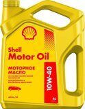 Масло моторное SHELL Motor Oil 10w-40 - 4 л.